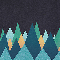 Abstract triangle pattern ExclusiveImage