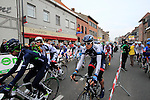 The riders start the 56th edition of the E3 Harelbeke, Belgium, 22nd  March 2013 (Photo by Eoin Clarke 2013)