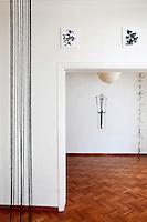 studio with art pieces