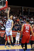GRONINGEN - Basketbal, Donar - Spirou, Martiniplaza, Europe Cup, seizoen 2019-2020, 27-11-2019,  score Donar speler Thomas Koenis