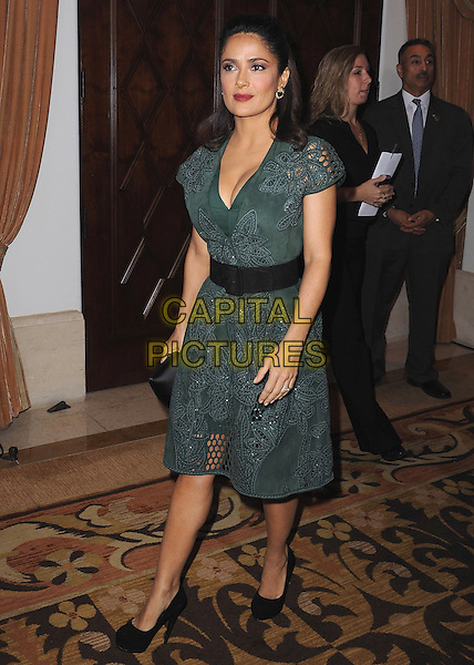 BEVERLY HILLS, CA - NOVEMBER 3:  Salma Hayek at the Equality Now &quot;Make Equality Reality&quot; Event at the Montage Hotel on November 3, 2014 in Beverly Hills, California.  <br /> CAP/MPI/PGSK<br /> &copy;PGSK/MediaPunch/Capital Pictures
