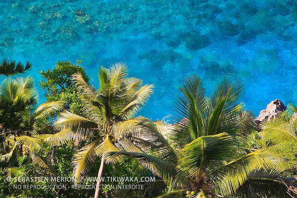 Littoral et lagon de Lifou, Nouvelle-Calédonie