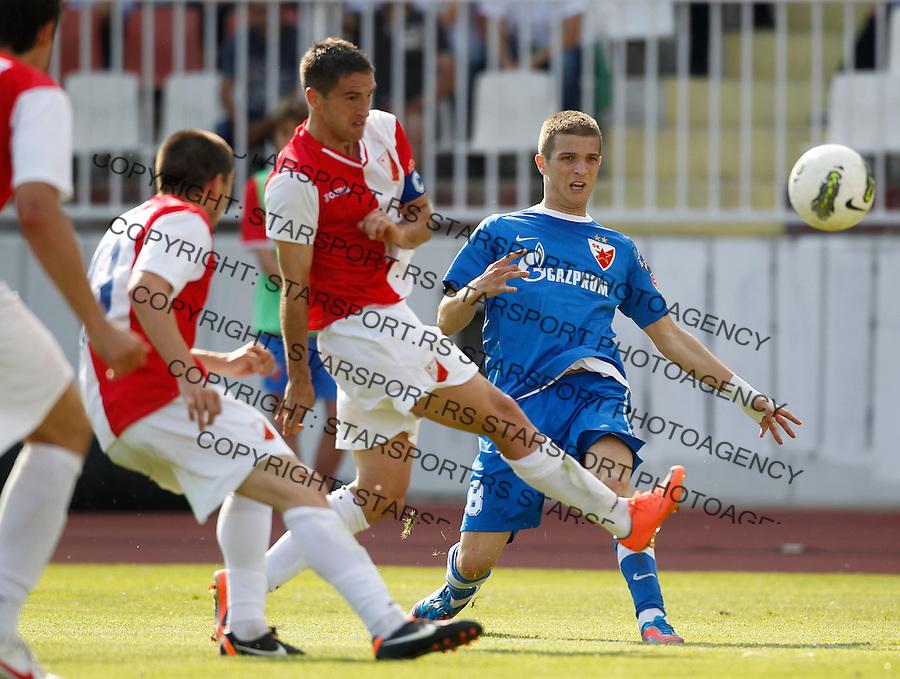 Fudbal, Jelen Super season 2011-2012.Vojvodina Vs. Crvena Zvezda.Darko Lazovic right.Novi Sad, 20.05.2012..foto: Srdjan Stevanovic/Starsportphoto ©