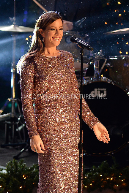 www.acepixs.com<br /> November 30, 2016  New York City<br /> <br /> Sarah McLachlan performing at The Rockefeller Center Christmas Tree lighting ceremony on November 30, 2016 in New York City.<br /> <br /> <br /> Credit: Kristin Callahan/ACE Pictures<br /> <br /> <br /> Tel: 646 769 0430<br /> Email: info@acepixs.com