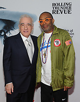 NEW YORK, NY - JUNE 10: Martin Scorsese and Spike Lee at the Netflix World Premiere of Rolling Thunder Revue: A Bob Dylan Story By Martin Scorsese at Alice Tully Hall in New York City on June 10, 2019. <br /> CAP/MPI/JP<br /> ©JP/MPI/Capital Pictures