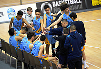 Action from the 2019 Schick AA Boys' Secondary Schools Basketball National Championship bronze playoff between Mount Albert Grammar School and Cashmere High School at the Central Energy Trust Arena in Palmerston North, New Zealand on Saturday, 5 October 2019. Photo: Dave Lintott / lintottphoto.co.nz