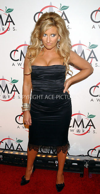 WWW.ACEPIXS.COM . . . . .....NEW YORK, NOVEMBER 15, 2005....Lee Ann Womack arriving to the 39th Annual Country Music Awards held at Madison Square Garden. ....Please byline: KRISTIN CALLAHAN - ACE PICTURES.. . . . . . ..Ace Pictures, Inc:  ..Philip Vaughan (212) 243-8787 or (646) 679 0430..e-mail: info@acepixs.com..web: http://www.acepixs.com