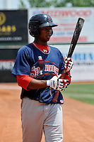 Lowell Spinners outfielder Keury DeLaCruz #12 during game against the Brooklyn Cyclones at MCU Park on July 18, 2011 in Brooklyn, NY.  Lowell defeated Brooklyn 11-5.  Tomasso DeRosa/Four Seam Images