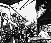 Rita Benson at the YLC's Lafayette Square concert series in New Orleans, LA.