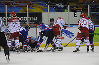 IJSHOCKEY: HEERENVEEN: 02-01-2016, UNIS Flyers - HYC Herentals, uitslag 4-3, ©foto Martin de Jong