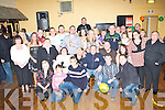 Surprise - Patrick Baily from Connelly Park, Tralee, seated centre having a ball with friends and family at his surprise 30th birthday party held in The Austin Stacks GAA Clubhouse on Saturday night.   Copyright Kerry's Eye 2008