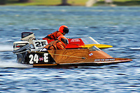 Jimmy Shane (24-E) (hydro)....Stock  Outboard Winter Nationals, Ocoee, Florida, USA.13/14 March, 2010 © F.Peirce Williams 2010