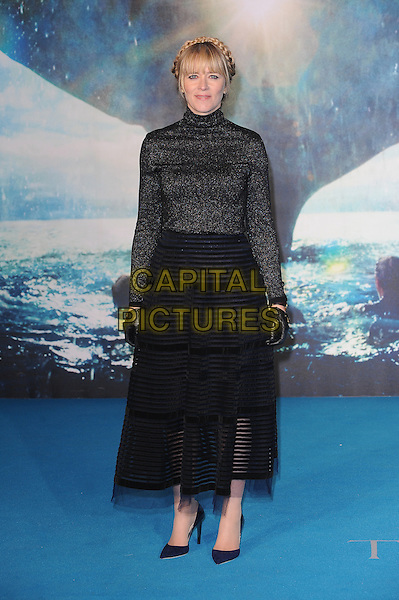 LONDON, ENGLAND - DECEMBER 7: Edith Bowman attends the European Premiere of In The Heart Of The Sea at Empire Leicester Square on December 7, 2015 in London, England.<br /> CAP/BEL<br /> &copy;BEL/Capital Pictures