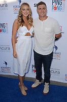 Mariana Vicente, Kike Hernandez<br /> at Clayton Kershaw's Ping Pong 4 Purpose Celebrity Tournament to Benefit Kershaw's Challenge, Dodger Stadium, Los Angeles, CA 08-11-16<br /> David Edwards/MediaPunch