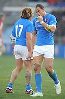 Sergio Parisse (Italia)<br /> Italia vs Galles<br /> RBS 6 Nations Rugby Championship 2011<br /> Stadio Flaminio;<br /> Roma, 26/02/2011<br /> Photo Antonietta Baldassarre Insidefoto