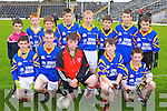 Pupils from Rathmore N.S. pictured at the Killarney Garda football blitz in Fitzgerald Stadium, Killarney on Friday, front row l-r: Michael Mahony, Damien Cronin, Paul Cronin, Edward Fitzgerald, Sean Cronin. Back row l-r: Stephen Horan, Anthony Darmody, Darragh Desmond, Brendan Murphy, Shane Carmody, Timmy O'Doherty, James O'Keeffe and Killian O'Sullivan..