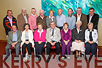 Garden winners at the Tralee Tidy Town awards at the Manor West hotel on Tuesday night Front from left: Frank Fitzell, Anne Fitzell, Ellen Leahy, Mayor Pat Hussey, Rita O'Sullivan, Hannah Quirke and Irene Foley. Back from Left: Michael Cronin, Cllr Johnny Wall, Sean Foley, PJ Higgins, Kitty Galvin, George Lynch, John O'Sullivan, Joe Moynihan and Brendan O'Brien.