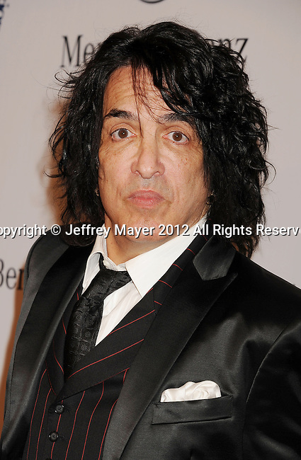 BEVERLY HILLS, CA - OCTOBER 20: Paul Stanley arrivesat the 26th Anniversary Carousel Of Hope Ball presented by Mercedes-Benz at The Beverly Hilton Hotel on October 20, 2012 in Beverly Hills, California.
