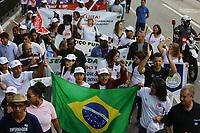 17.05.2018 - Protesto de profissionais da enfermagem na Av Paulista em SP