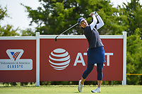 Tiffany Joh (USA) watches her tee shot on 12 during the round 2 of the Volunteers of America Texas Classic, the Old American Golf Club, The Colony, Texas, USA. 10/4/2019.<br /> Picture: Golffile | Ken Murray<br /> <br /> <br /> All photo usage must carry mandatory copyright credit (© Golffile | Ken Murray)