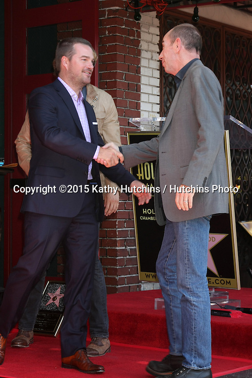 LOS ANGELES - MAR 5:  Chris O'Donnell, Miguel Ferrer at the Chris O'Donnell Hollywood Walk of Fame Star Ceremony at the Hollywood Blvd on March 5, 2015 in Los Angeles, CA