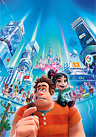 Ralph Breaks the Internet (2018) <br /> John C. Reilly and Sarah Silverman<br /> *Filmstill - Editorial Use Only*<br /> CAP/RFS<br /> Image supplied by Capital Pictures