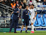 England's Gareth Southgate talks to Kyle Walker during the Friendly match at Stade De France Stadium, Paris Picture date 13th June 2017. Picture credit should read: David Klein/Sportimage