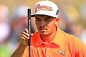 Rickie Fowler (USA) in action during the final round of the 143rd Open Championship played at Royal Liverpool Golf Club, Hoylake, Wirral, England. 17 - 20 July 2014 (Picture Credit / Phil Inglis)