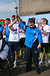 Special Olympics Torch at St Itas