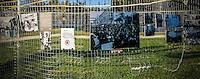 Roma, Parco Schuster, 30 Agosto 2014: giornata all'insegna dell'Antifascismo con concerti, mostre fotografiche, incontri e dibattiti, organizzata dal Laboratorio Acrobax per ricordare il giovane Renato Biagetti, assassinato nel 2006 mentre usciva da una dancehall reggae - Rome, Park Schuster, August 30, 2014 - A day dedicated to antifascism with concerts, exhibitions, meetings and discussions, organized by the Laboratorio Acrobax to remember the young Renato Biagetti, murdered in 2006 while he was leaving a reggae dancehall.