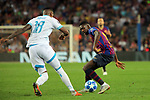UEFA Champions League 2018/2019 - Matchday 1.<br /> FC Barcelona vs PSV Eindhoven: 4-0.<br /> Pablo Rosario vs Ousmane Dembele.