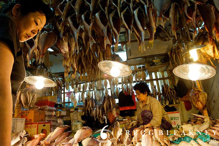 Dried Fish @ Jagalchi Market - Busan - South Korea
