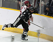 Jake Horton (Harvard - 19), Niko Rufo (PC - 11) - The Harvard University Crimson defeated the Providence College Friars 3-0 in their NCAA East regional semi-final on Friday, March 24, 2017, at Dunkin' Donuts Center in Providence, Rhode Island.