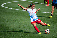 Kansas City, MO - Saturday September 9, 2017: Danielle Colaprico during a regular season National Women's Soccer League (NWSL) match between FC Kansas City and the Chicago Red Stars at Children's Mercy Victory Field.