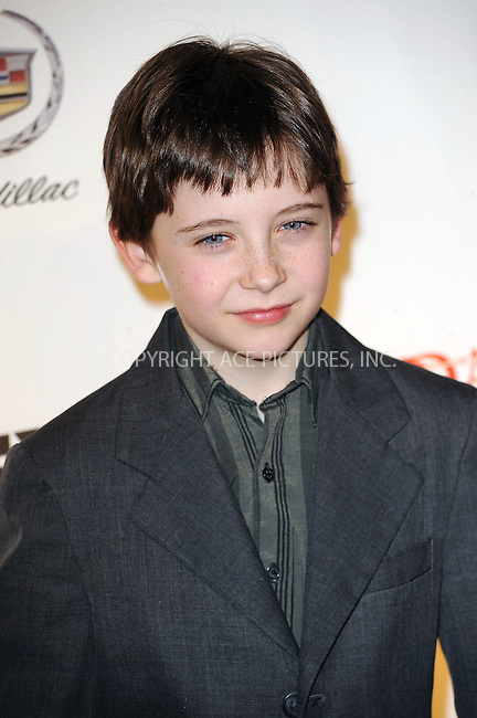 WWW.ACEPIXS.COM . . . . . ....January 19 2010, New York City....Actor Seamus Davey-Fitzpatrick arriving at the Season 3 premiere of 'Damages' at the AXA Equitable Center on January 19, 2010 in New York City.....Please byline: KRISTIN CALLAHAN - ACEPIXS.COM.. . . . . . ..Ace Pictures, Inc:  ..tel: (212) 243 8787 or (646) 769 0430..e-mail: info@acepixs.com..web: http://www.acepixs.com