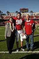 18 November 2006: David Jackson during Stanford's 30-7 loss to Oregon State at Stanford Stadium in Stanford, CA.