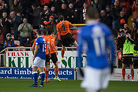 16th November 2019; Tannadice Park, Dundee, Scotland; Scottish Championship Football, Dundee United versus Queen of the South; Paul McMullan of Dundee United celebrates after scoring for 1-0 in the 22nd minute - Editorial Use