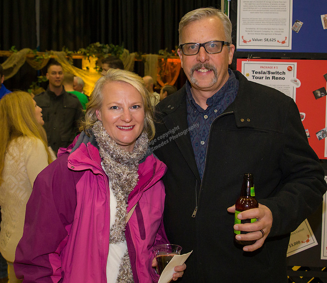 Kellea and Mike Markert during the 38th Annual Jack T. Reviglio Cioppino Feed and Auction at the Boys & Girls Club in Sparks on Saturday, February 24, 2018.