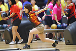 Yuri Sato (JPN),<br /> AUGUST 22, 2018 - Bowling : <br /> Women's Trios Block 1 <br /> at Jakabaring Sport Center Bowling Center <br /> during the 2018 Jakarta Palembang Asian Games <br /> in Palembang, Indonesia. <br /> (Photo by Yohei Osada/AFLO SPORT)