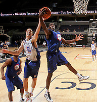 Adjehi Baru at the NBPA Top100 camp June 18, 2010 at the John Paul Jones Arena in Charlottesville, VA. Visit www.nbpatop100.blogspot.com for more photos. (Photo © Andrew Shurtleff)