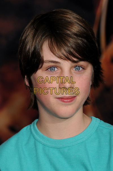 "STERLING BEAUMON.""Race to Witch Mountain"" Los Angeles Premiere at the El Capitan Theatre, Hollywood, California, USA..March 11th, 2009.headshot portrait .CAP/ADM/BP.©Byron Purvis/AdMedia/Capital Pictures."