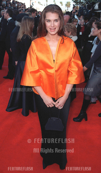 07MAR99: Actress BROOKE SHIELDS at the Screen Actors Guild Awards..© Paul Smith / Featureflash