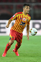 Giulio Donati of US Lecce in action during the Serie A football match between US Lecce and UC Sampdoria at Via del Mare stadium in Lecce ( Italy ), July 1st, 2020. Play resumes behind closed doors following the outbreak of the coronavirus disease. <br /> Photo Carmelo Imbesi / Insidefoto