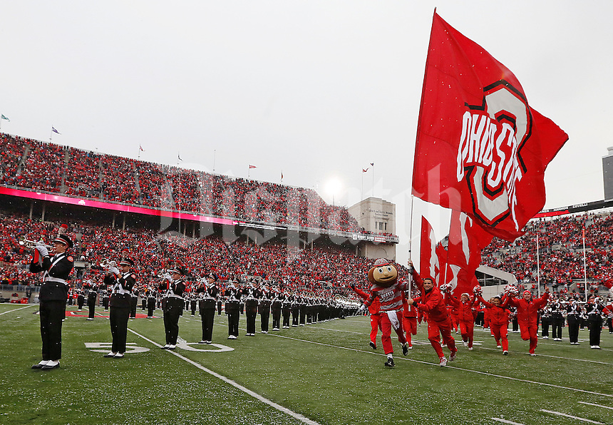at Ohio Stadium in Columbus, Ohio on November 23, 2013.  (Chris Russell/Dispatch Photo)