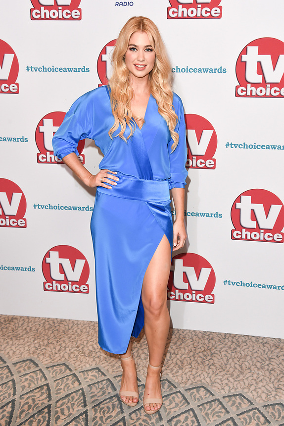 Amanda Clapham<br /> arriving for the TV Choice Awards 2017 at The Dorchester Hotel, London. <br /> <br /> <br /> ©Ash Knotek  D3303  04/09/2017
