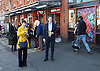 Caroline Pidgeon, Liberal Democrat Mayoral candidate campaigning with former Liberal Democrat Leader and Deputy Prime Minister Nick Clegg MP at Putney railway station, London, Great Britain <br /> <br /> 4th May 2016 <br /> <br /> <br /> <br /> also with Adrian Hyyrylainen-Trett<br /> <br /> <br /> <br /> Photograph by Elliott Franks <br /> Image licensed to Elliott Franks Photography Services