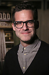 """Bill Buckhurst attends a press reception for the cast of The Tooting Arts Club production of """"Sweeney Todd''  at AOC L'aile ou la Cuisse on February 2, 2017 in New York City."""