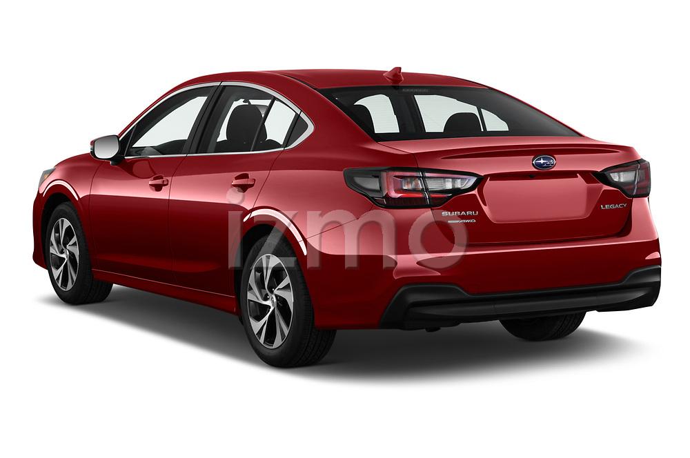 Car pictures of rear three quarter view of 2020 Subaru Legacy Premium 4 Door Sedan Angular Rear