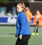 AMSTELVEEN - Manager Merel Bast (Hurley). Hoofdklasse competitie dames, Hurley-HDM (2-0) . COPYRIGHT KOEN SUYK