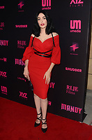 HOLLYWOOD, CA - SEPTEMBER 11: Micheline Pitt at the Los Angeles Special Screening of Mandy at the Egyptian Theater in Hollywood, California on September 11, 2018. <br /> CAP/MPI/DE<br /> &copy;DE//MPI/Capital Pictures